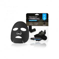 Тканевая маска для лица с древесным углем 3W CLINIC Fresh Charcoal Mask Sheet 23мл
