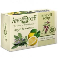 Aphrodite Мыло оливковое с шалфеем и лимоном 100 г