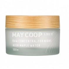 ночной крем maycoop raw concentra for night