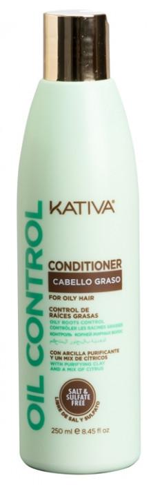 KATIVA Кондиционер для жирных волос Контроль / OIL CONTROL 250 мл