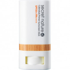 солнцезащитный праймер-стик с календулой secret nature calendula primer sunscreen stick spf50+/pa++++