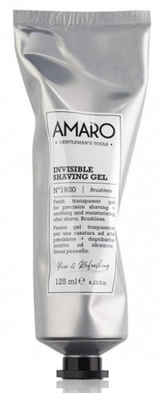 FARMAVITA Гель прозрачный для бритья / Amaro Invisible Shaving Gel 125 мл