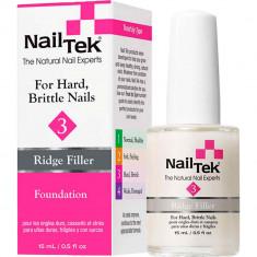 Базовое выравнивающее покрытие для сухих, ломких ногтей Foundation 3 Nail Tek