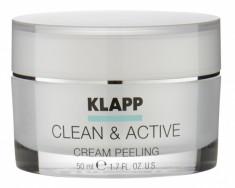 KLAPP Крем пилинг для лица / CLEAN & ACTIVE 50 мл