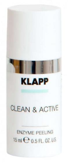KLAPP Скраб энзимный для лица / CLEAN & ACTIVE 15 мл