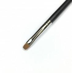Кисть для теней прямоугольная MAKE-UP-SECRET 127 (соболь)