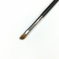 Кисть скошенная для карандашной техники/для растушевки MAKE-UP-SECRET 006 (соболь)