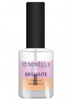 Масло для ногтей и кутикулы трехцветное NINELLE