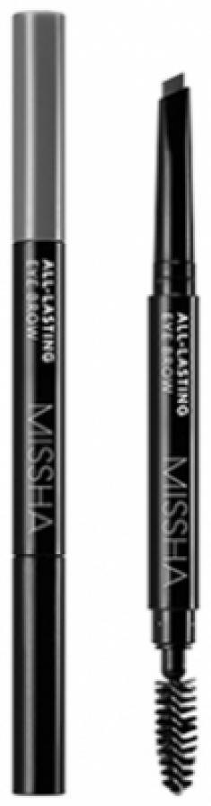 Карандаш для бровей MISSHA All-lasting Eye Brow Gray Brown