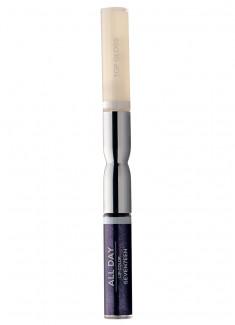 Помада-блеск для губ жидкая Фиолетовый с блестками SEVENTEEN