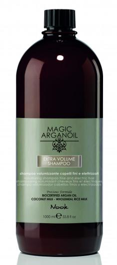 NOOK Шампунь для придания объема тонким и наэлектризованным волосам / Extra Volume Shampoo MAGIC ARGANOIL 1000 мл