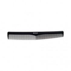 Dewal, Расческа «Эконом», комбинированная, черная, 17,5 см