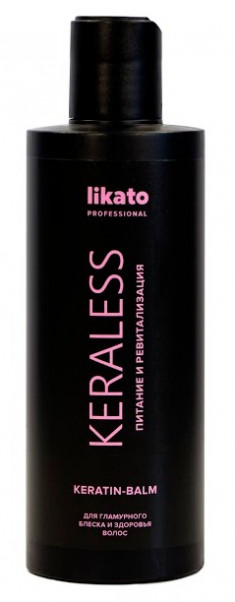 LIKATO PROFESSIONAL Бальзам с кератином для ослабленных волос / KERALESS 250 мл