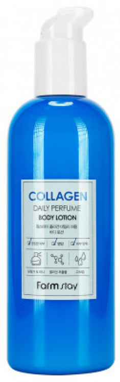 Лосьон для тела парфюмированный с коллагеном FarmStay Collagen Daily Perfume Body Lotion 330мл