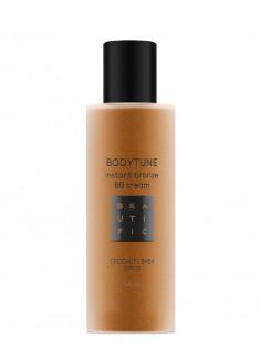 BEAUTIFIC BB-крем бронзирующий для тела SPF 15, с маслом кокоса и ши / Bodytune 150 мл