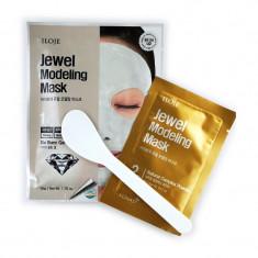 моделирующая маска для лица с алмазной пудрой konad jewel modeling mask dia blanc