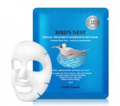 Маска увлажняющая с экстрактом ласточкиного гнезда MediFlower Special Treatment Energizing Mask Pack Bird's Nest 25 мл
