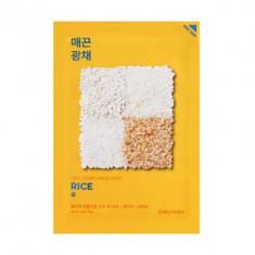 Маска тканевая против пигментации с рисом Holika Holika Pure Essence Mask Sheet Rice 20мл
