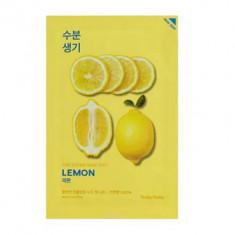 Маска тканевая тонизирующая Holika Holika Pure Essence Mask Sheet Lemon, лимон 20 мл