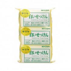 туалетное мыло с натуральными компонентами miyoshi additive free soap