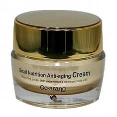 антивозрастной крем с экстрактом слизи улитки co arang snail nutrition anti-aging cream