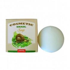 косметическое мыло для умывания с экстрактом слизи улитки seil trade cosmetic snail soap