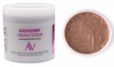 Малиновый крем-скраб Aravia professional Raspberry Cream Scrub, 300 мл