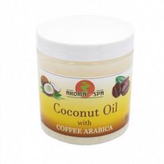 Кокосовое масло с кофе для тела, 250 г (Aroma-SPA)