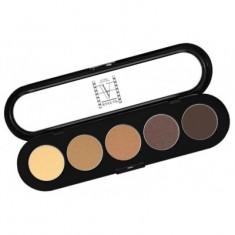 Палитра теней, 5 цветов Make-Up Atelier Paris T26 дымчато-коричневые тона