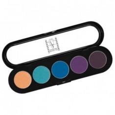 Палитра теней, 5 цветов Make-Up Atelier Paris Т21 тропические тона