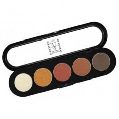 Палитра теней, 5 цветов Make-Up Atelier Paris T15 золотисто-коричневые тона