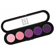 Палитра теней, 5 цветов Make-Up Atelier Paris T09 розово-фиолетовые тона