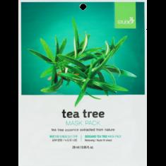 Тканевая маска с экстрактом чайного дерева BERGAMO TEA TREE MASK PACK 28 мл