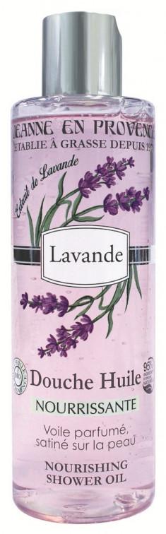 JEANNE EN PROVENCE Масло питательное для душа Лаванда 250 мл