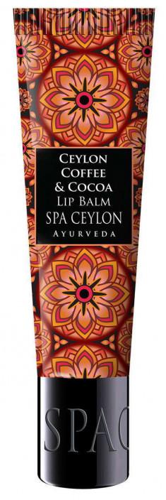 SPA CEYLON Бальзам питательный для губ Цейлонский кофе и какао 12 г