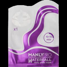 Маска освежающая для увлажнения кожи лица Manly PRO WM1 1шт