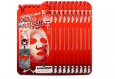 НАБОР Тканевых масок с Коллагеном Elizavecca COLLAGEN DEEP POWER Ringer mask pack 23мл*10шт