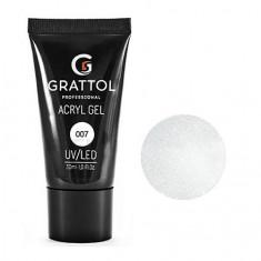 Grattol, Acryl Gel Glitter №07, 30 мл
