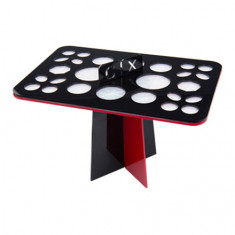 IRISK, Подставка-органайзер для сушки кистей, 26 ячеек, черно-красная