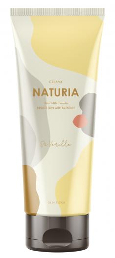 EVAS Скраб для тела Ваниль / NATURIA CREAMY OIL SALT SCRUB So Vanilla 250 г