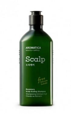 Шампунь укрепляющий с розмарином AROMATICA Rosemary Scalp Scaling Shampoo 250мл