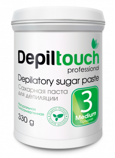 DEPILTOUCH PROFESSIONAL Паста сахарная средняя / Depiltouch professional 330 г