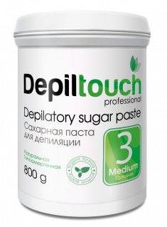 DEPILTOUCH PROFESSIONAL Паста сахарная средняя / Depiltouch professional 800 г