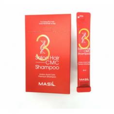 Набор шампуней с аминокислотами MASIL 3SALON HAIR CMC SHAMPOO STICK POUCH 8мл*20
