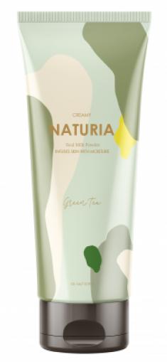 Скраб для тела ЗЕЛЕНЫЙ ЧАЙ EVAS NATURIA Creamy Oil Salt Scrub Green Tea 250 г