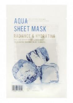Тканевая маска с гиалуроновой кислотой EUNYUL PURITY AQUA SHEET MASK 22мл