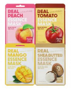 Набор тканевых масок FarmStay Витаминный заряд 23мл*4