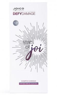 JOICO Набор защитный для укрепления связей и стойкости цвета волос (шампунь 300 мл, маска-бонд 150 мл) OTP PP Stars of joi DD SH+MSQ