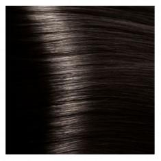 KAPOUS HY 4.12 краска для волос, коричневый табачный / Hyaluronic Acid 100 мл