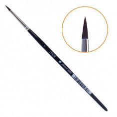Planet nails, кисть для дизайна овальная, №1, 9845.1
